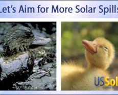 US Solar - Let's Aim for More Solar Spills