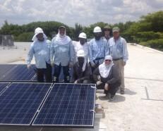solar training micro battery