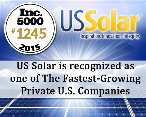 US Solar Ranked #1 Fastest Growing Florida Energy Company