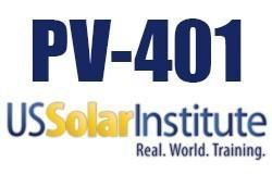 PV401: Solar Training - Real World Training