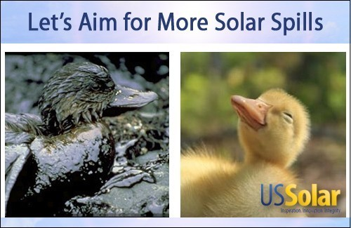 Solar Spills
