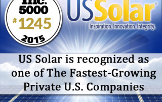US Solar Ranked #1 Fastest Growing Florida Energy Company