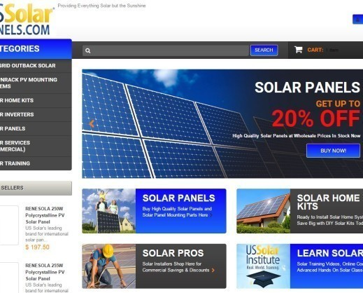 us solar panels