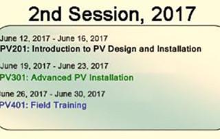 advanced solar training school