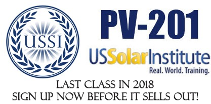 Hands on Solar Training Course 2018